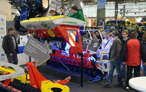 PÖTTINGER is major exhibitor at Techagro 2014 in Brno/Czech Republic