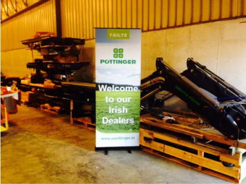 Pöttinger Irland Service-Trainingstag