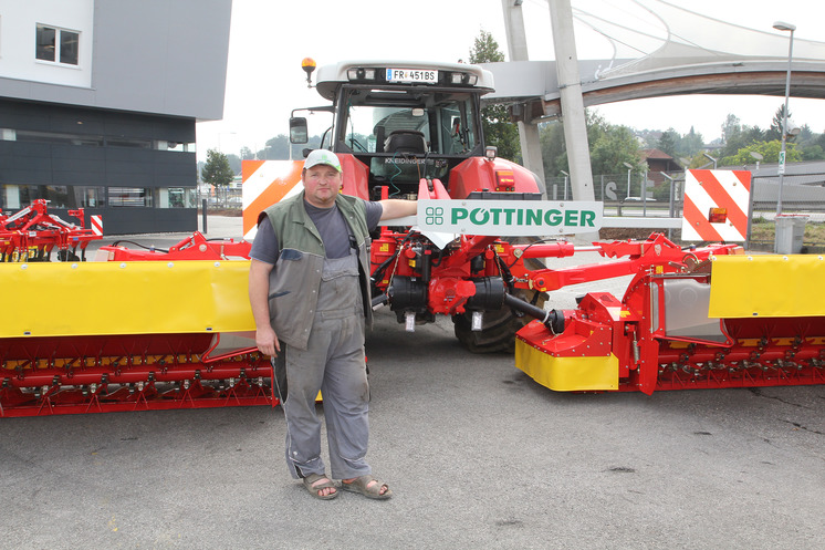 A new V10 mower combination goes to Hirschbach (AT)
