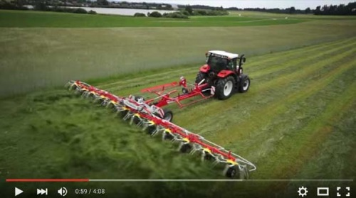 New product video: HIT T tedder