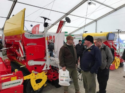 LAMMA show (UK): Great range of PÖTTINGER machines