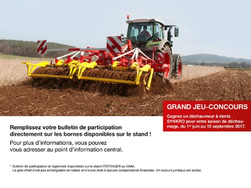 Grand jeu-concours SYNKRO – SIMA 2017