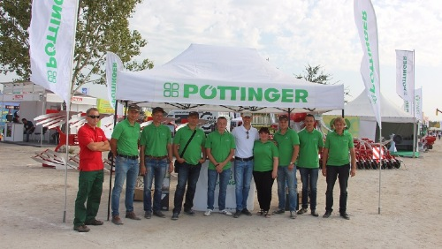 PÖTTINGER at AGROEXPO 2017 in Ukraine