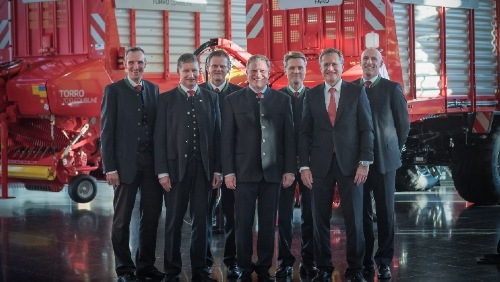 PÖTTINGER: Continuity with new Management Team
