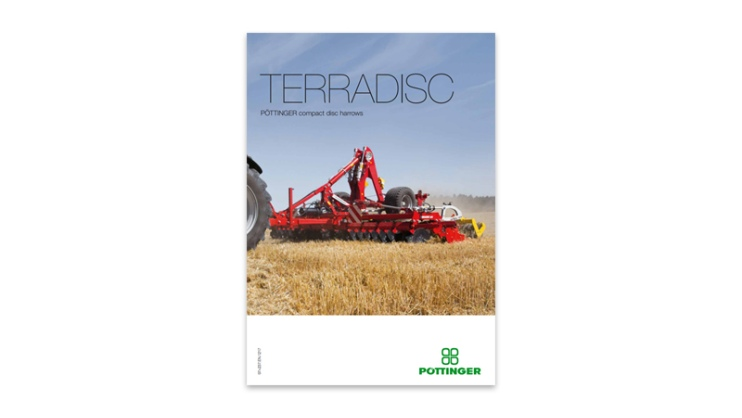 Updated brochure: TERRADISC disc harrows
