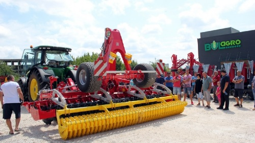 Successful tillage events in Bulgaria