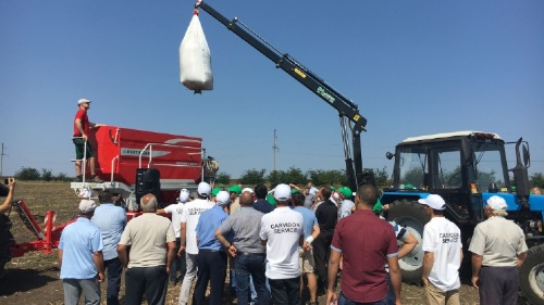 New dealership and successful field day in Moldavia