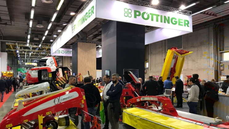 Trade fair highlights and awards for PÖTTINGER
