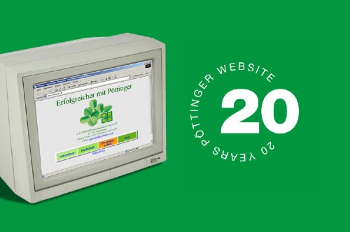 20 years of the PÖTTINGER website