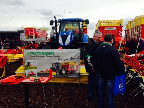 National Ploughing Event mit Rekordbeteiligung