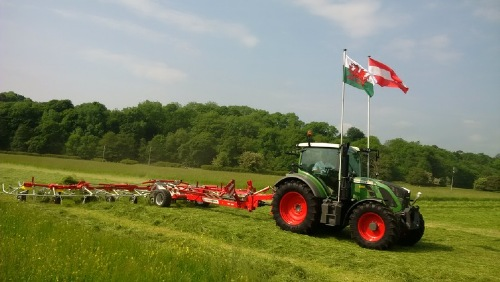 Royal Welsh Agricultural Society demonstration event