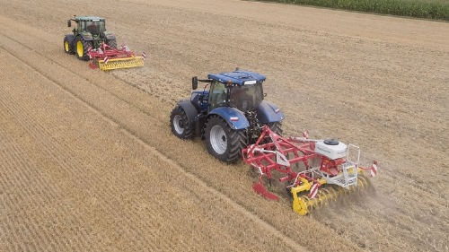 Stubble cultivation for successful arable farming