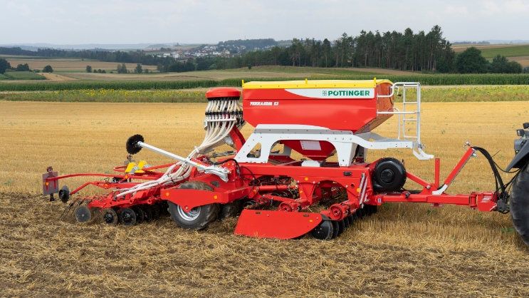 TERRASEM: Unbeatable in direct mulch drilling