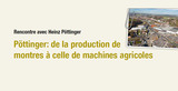 Interview de Heinz Pöttinger dans le magazine belge TRACTOR POWER