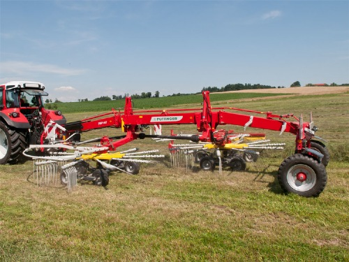 New dual rakes: TOP 612 C, TOP 702 C and TOP 762 C