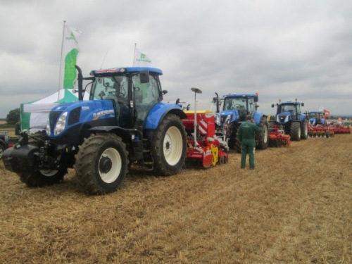 "Pöttinger war auf der ""Tillage Live 2013"" – 11. September 2013"