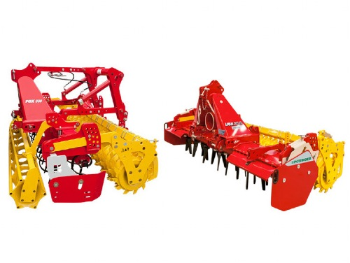Comparison of the systems: power harrow vs compact combination