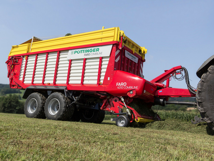 The new FARO: Smoothest running mid-class rotor loader wagon with high output - also as COMBILINE
