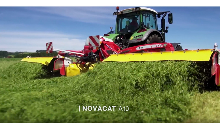 Neues Video: Die innovative Mähkombination NOVACAT A10