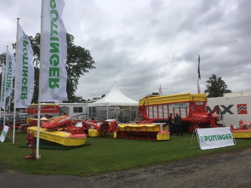 Royal Highland Show (UK) with several new products