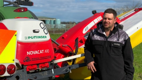 New Zealand contractor achieves the best cut with the NOVACAT A10 mower combination