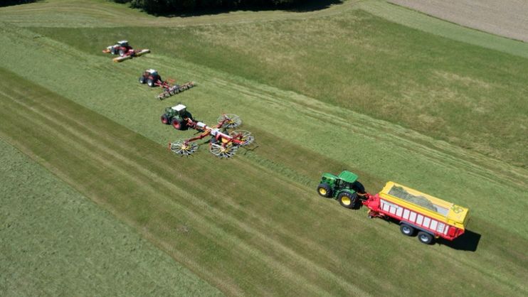 Precision farming – grassland and harvesting technology