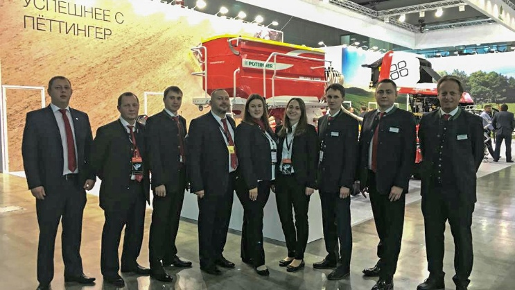 Successful AGROSALON trade fair in Moscow (RU)