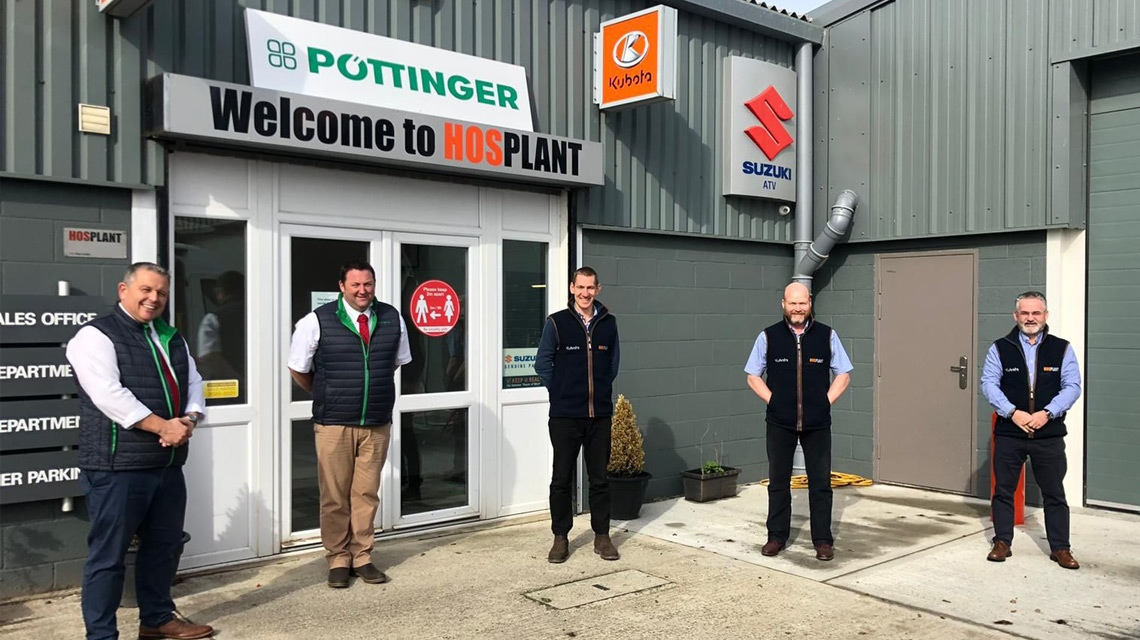 Hosplant join the Pottinger UK dealer network