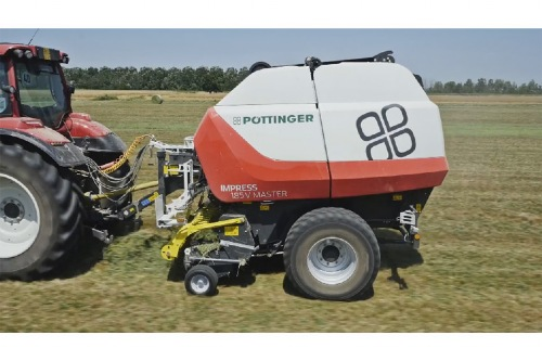 Prepare to be impressed: new video of the IMPRESS round balers