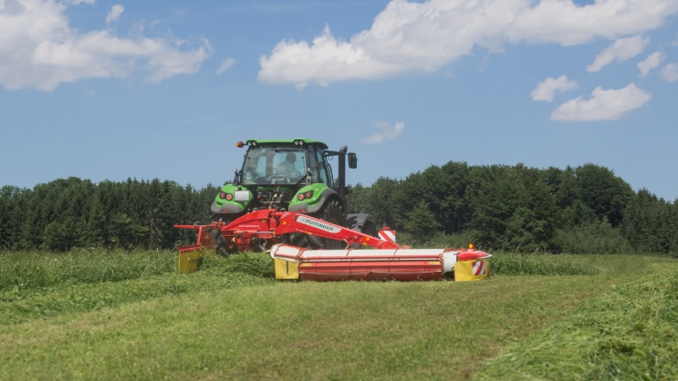PÖTTINGER  mowers for maximum flexibility
