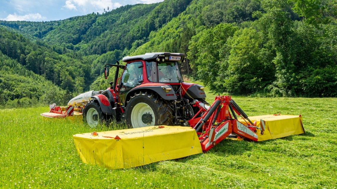 New: NOVADISC 732, 812, 902 mower combinations
