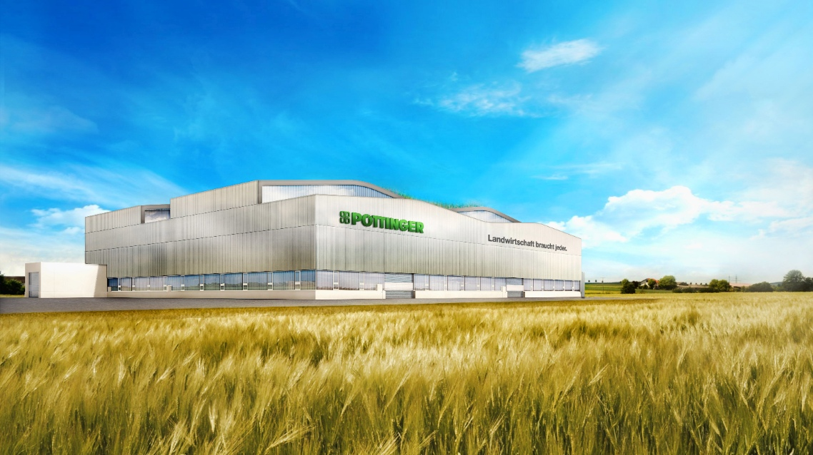 Go on green: PÖTTINGER is building a fourth plant