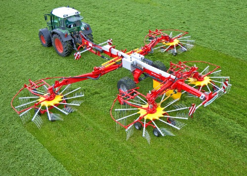 Quality swathing in New Zealand with TOP rakes