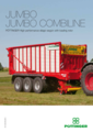 JUMBO/JUMBO COMBILINE High performance silage wagon with loading rotor