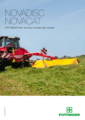 NOVADISC/NOVACAT front- and rear-mounted disc mowers
