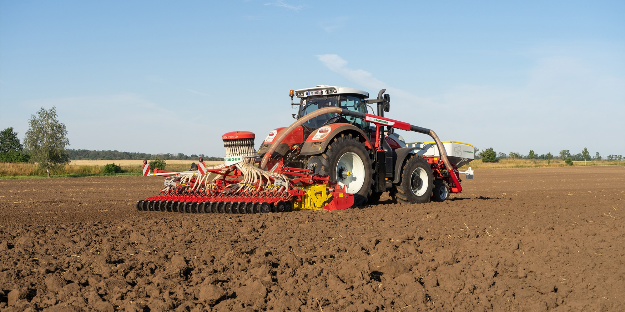 AEROSEM FDD: New front hopper seed drill
